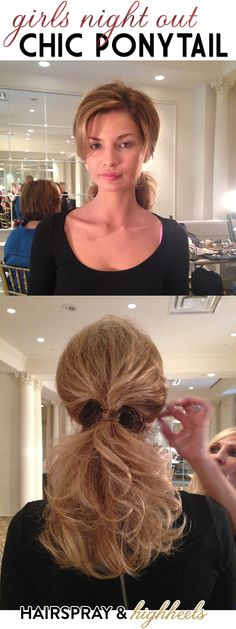 Get The Look: Chic Ponytail
