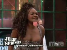 springer nudity Black women show Jerry on