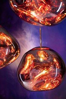 Tom Dixon Melt hanglamp koper