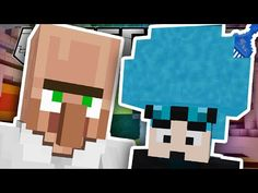 The Diamond Minecart   Minecraft   TURNING DANTDM'S HAIR BLUE!!   Custom Mod Adventure - YouTube