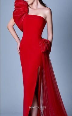 Red Frock, Fishtail Maxi Dress, Couture Looks, Red Bridesmaid Dresses, Fall Dresses, Chiffon Dresses, Long Dresses, Party Dresses, Formal Dresses