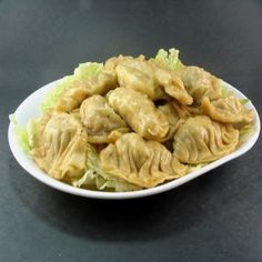 Meat And Chinese Chive Pot Stickers (Guotie) Recipe — Dishmaps