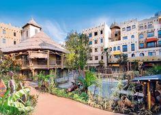 Het driesterren Hotel Matamba is een uniek Afrikaans themahotel in attractiepark Phantasialand in Brühl bij Keulen. Laat je meevoeren door de exotische Afrikaanse jungle, met directe toegang tot het Afrikaanse deel van het park 'Deep in Africa'. Vrolijke kleuren, schilderijen, maskers, exotische planten en originele Afrikaanse meubels zorgen voor een unieke sfeer. Hotel Matamba heeft een toegang tot Phantasialand en ligt op 20 minuten rijden van het centrum van Keulen. Officiële categorie…