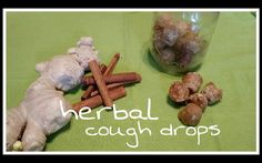 Herbal Cough Drops – with cinnamon and ginger
