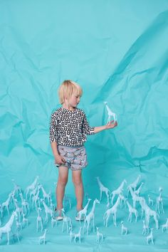 Sneak peek at Gardner and the Gang for kidswear spring 2016