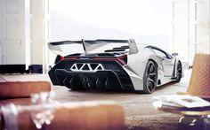 Lataa kuva Lamborghini Veneno, italian autot, 2017 autot, valkoinen Veneno, superautot, Lamborghini