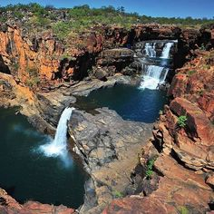 Mitchell Falls in Western Australia Perth, Brisbane, Melbourne, Australia Travel, Western Australia, Mitchell Falls, Australia Occidental, Destinations, Nature Pictures
