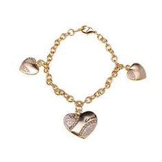 Coach Heart Signature Gold Bracelets ALD