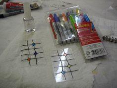 Loodband, stift, nagellak