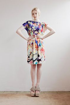 Summer Sale Dancing Dress in Silk Jersey.
