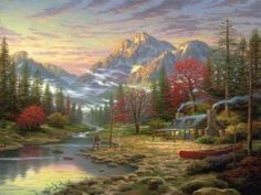 The Good Life by Thomas Kinkade