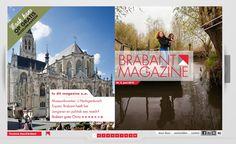 Brabant Magazine is het interactieve, digitale magazine van de provincie Noord-Brabant. Veel beeld, veel beleving, veel Brabant. Lees online: http://www.brabantmagazine.nl