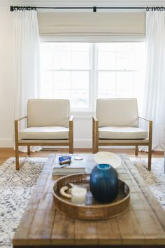 Brass chairs and brickmaker table || Studio McGee
