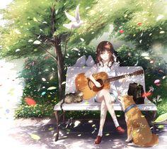 桜* - Anime Art - Animemusic 2020 Manga Kawaii, Manga Anime Girl, Anime Girl Drawings, Kawaii Anime Girl, Pretty Anime Girl, Cool Anime Girl, Beautiful Anime Girl, Anime Gilr, Fille Blonde Anime