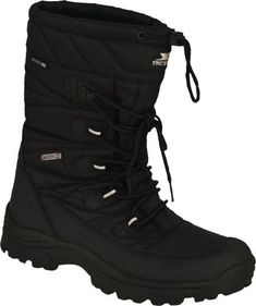Trespass Yetti Mens Waterproof Snow Boots Black Breathable Warm Winter Shoes   Clothes, Shoes & Accessories, Men's Shoes, Boots   eBay!