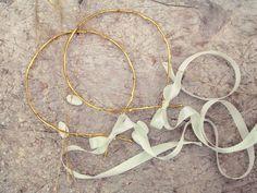 Gold Vine Wedding Crown