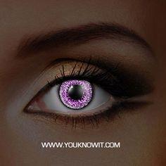 Glow Amethyst Contact Lenses