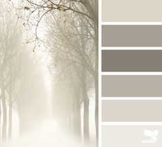 foggy tones...is'nt this dreamy. I think I'll make a few paintings in these colors. www.brittanyhaglerdesigns.com