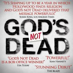 What people are saying - God's Not Dead - Pure Flix - Christian Movies - #PureFlix #God #GodsNotDeadMovie #ChristianMovies