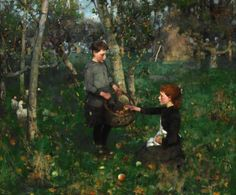Sir James Guthrie In the Orchard, Purchased by the National Galleries of Scotland and Glasgow Museums with the assistance of NHMF and the Art Fund, 2012 Glasgow Museum, Glasgow City, Art Quiz, Pintura Exterior, Irish Art, Boy Art, Your Paintings, Art History, Canvas Art