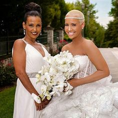 Amber Rose and her mother, Shauna Soares from Cape Verde. She grew up in South Philadelphia. See  http://en.wikipedia.org/wiki/Amber_Rose