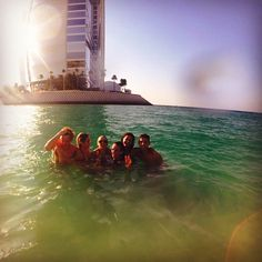 Selena Gomez Thankful for these kind hearted fools. ☺️#jumeirah #love