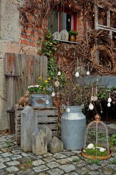 Hof I& gone with Easter impressions - Hof I& gone . - Hof I& gone with Easter impressions – Hof I& gone …, - Small Gardens, Outdoor Gardens, Garden Art, Garden Design, Diy Garden, Indoor Garden, Garden Ideas, Real Plants, Backyard Landscaping