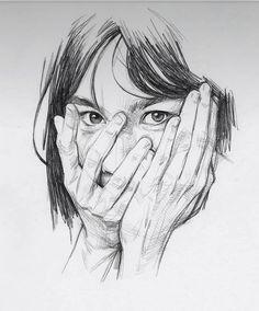 "4,514 Likes, 14 Comments - A R T (@modernartt) on Instagram: ""@modernartt . . Art by @davemalanart #art #drawing #draw #karakalem #çizim"""