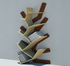 parametric bookcase