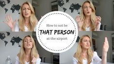 Airport travel tips! How to not be annoying in the airport and make your travel live easier! Annoyed, Traveling By Yourself, Travel Tips, Hacks, Make It Yourself, Live, Travel Advice, Travel Hacks, Tips