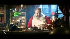 Nick's favorite holiday ad is the Unicef Santa from 2011!