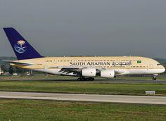 Saudia A380.... Loud and proud! :) #international
