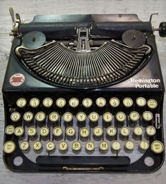 Vintage Remington Noiseless Model 2 Typewriter | This vintage typewriter, manufactured in 1937, makes a happy a... | Typewriters