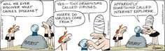 b.c. comic strip | Comic Strip What causes viruses | Laugh out Loud | Pinterest