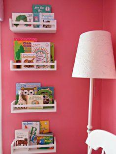 Bookshelves In Nursery