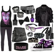 Falling In Reverse :-) I need those shoes!