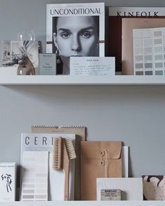 Gallery wall idea using IKEA picture ledges. A cosy, grey home office for a freelance creative - my makeover reveal Home Office Furniture, Home Office Decor, Home Decor, Office Ideas, Office Setup, Bedroom Office, Furniture Ideas, Gallary Wall, Ikea Picture Ledge
