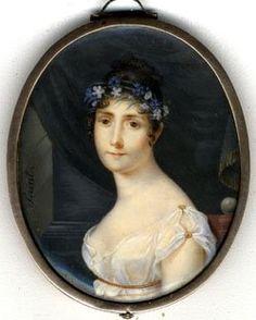 Empress Josephine miniature portrait via Google