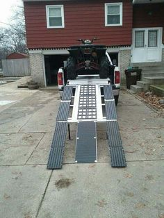 89 X 12 Aluminum Loading Ramps ATV Quad UTV 4 Wheeler Motorcycle Pair