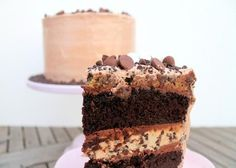 Midnight Binge Cake | Five-Layers of Chocolate Cake and Cookie Dough Decadence***