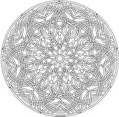 mandala_315 Adult Teenagers coloring pages | To Color - Mandalas ...