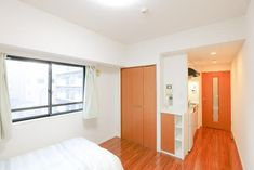 HIGASHISHINJUKU TRF 5885 is a fully furnished studio aparment with warm wooden furnishings located 3 minutes away from Higashi-Shinjuku Station on the Toei Oedo Line. Shinjuku Tokyo, Warm, Studio, Home, Ad Home, Studios, Homes, Haus