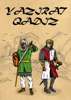 "Portada de la novela ""Yazirat Qadiz"""