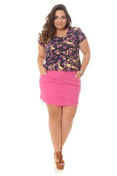 Blog Débora Fernandes Plus: Pode sim! Mini-saia para gordinhas! #verãosemvergonha