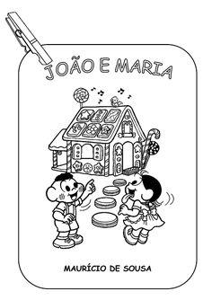 """ALFABETIZAÇÃO DIVERTIDA: HISTÓRIA """"JOÃO E MARIA"""""""
