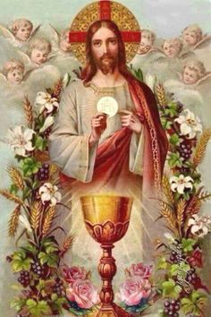 Shop Traditional Catholic Mass Offering Sacred Heart Card created by ShowerOfRoses.