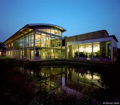 Adam Joseph Lewis Center for Environmental Studies, Oberlin College - William McDonough + Partners