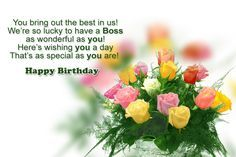 Happy Birthday Boss Wishes, Messages, Quotes and images