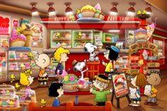 Peanuts cake shop