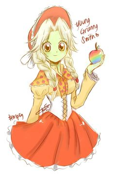 Young Granny Smith [MLP EG ver.] by Aizy-Boy40.deviantart.com on @DeviantArt
